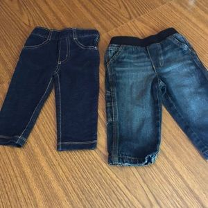 Two Pairs Boys' Jeans